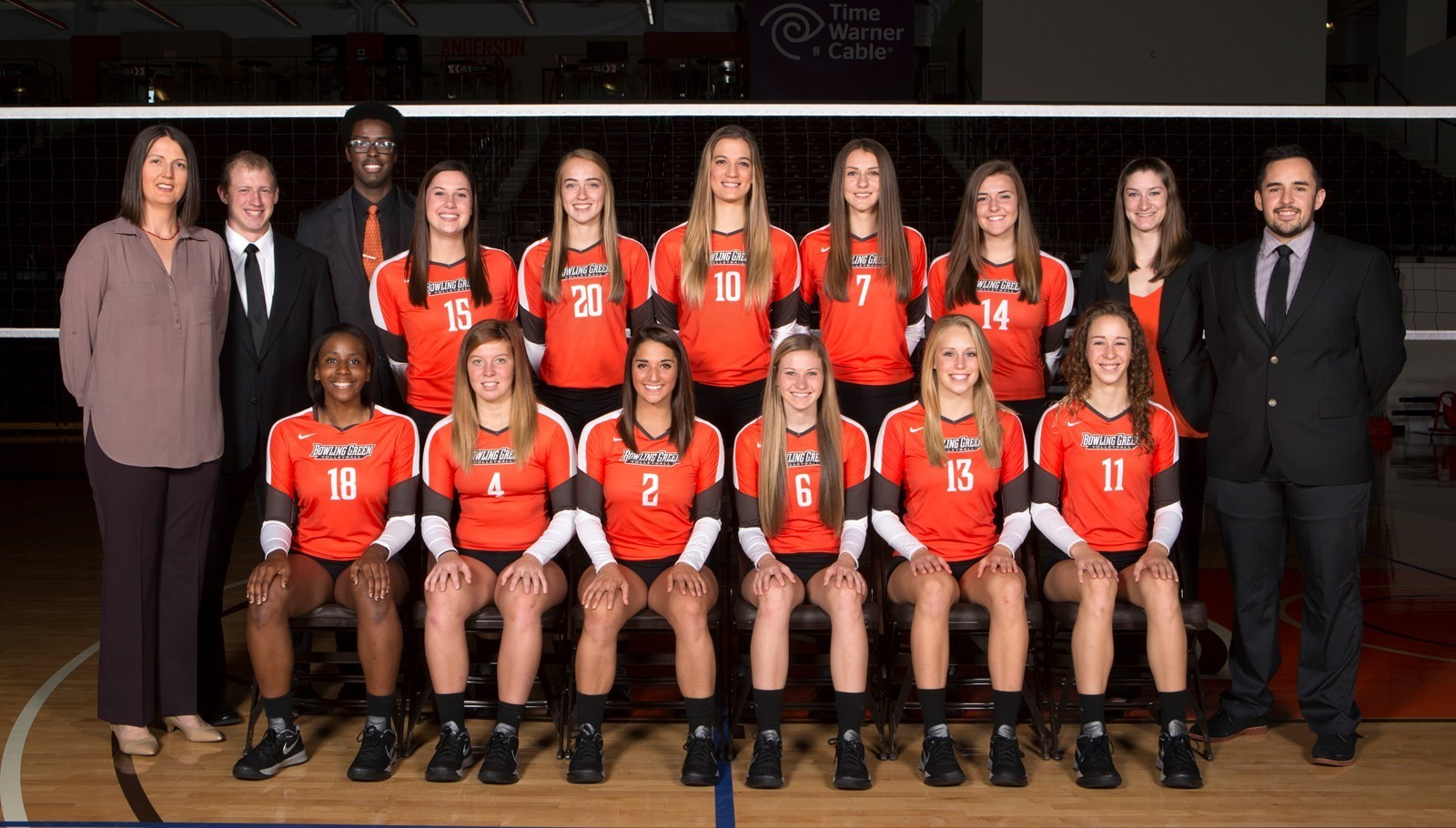 2015 Volleyball Roster Bowling Green State University Athletics