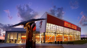 Stroh Center at Night