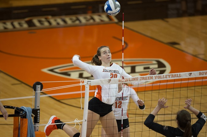 Falcon Volleyball's Season Comes To A Close After Defeat To Bradley In NIVC First-Round Match - Bowling Green State University Athletics