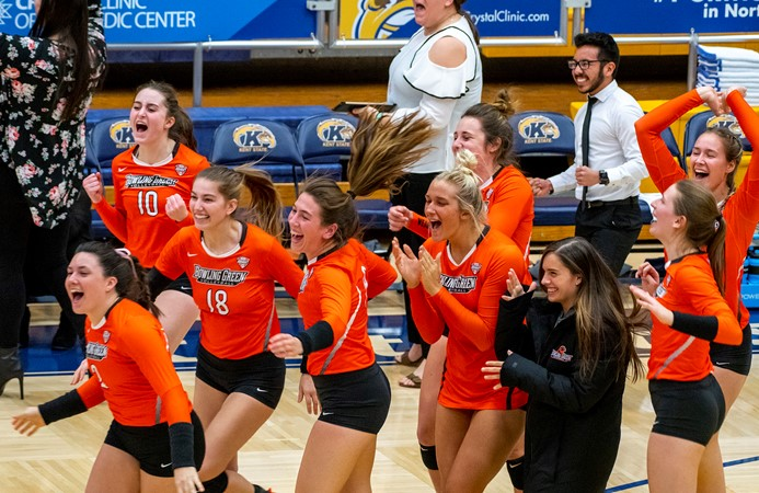 Falcon Volleyball Accept Invitation To Compete In 2018 NIVC - Bowling Green State University Athletics