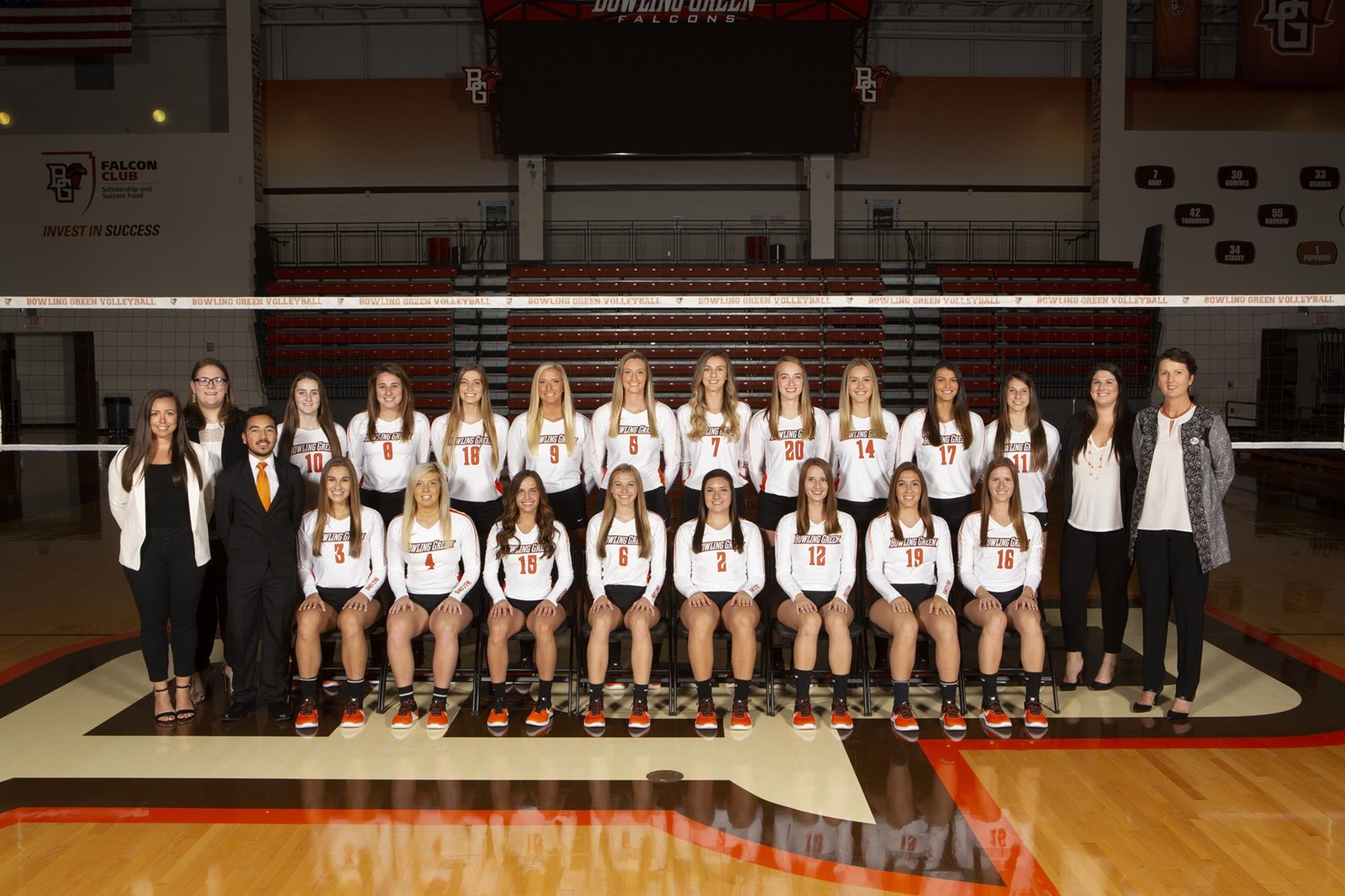 2018 Volleyball Roster Bowling Green State University Athletics