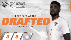 Ebenezer Ackon drafted by Chicago Fire