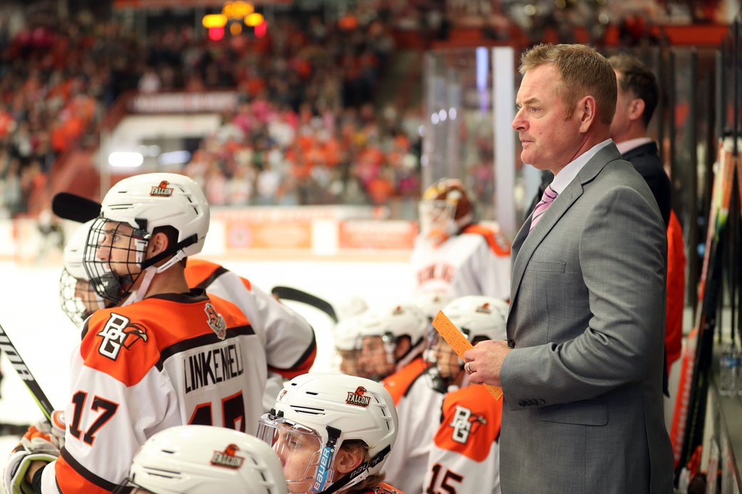 Falcons Lifted Over Western Michigan With Late Power Play Goal
