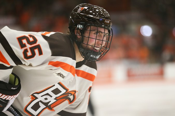 Bowling Green Advances To WCHA Championship Game With Double OT Victory Over NMU - Bowling Green State University Athletics