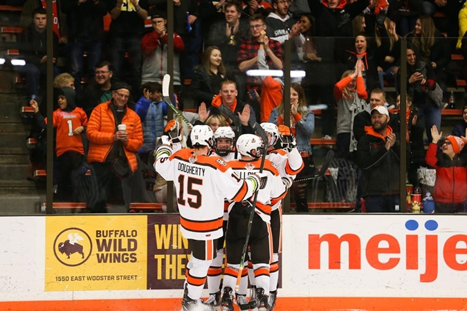 Hockey Set To Celebrate 50th Anniversary, Senior Class This Weekend In Regular Season Home Finale - Bowling Green State University Athletics