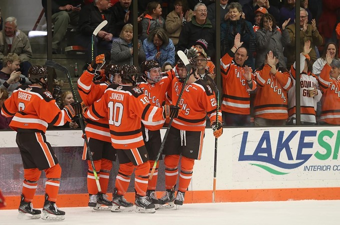 Falcons Breakout For Six Goals To Best Bulldogs - Bowling Green State University Athletics