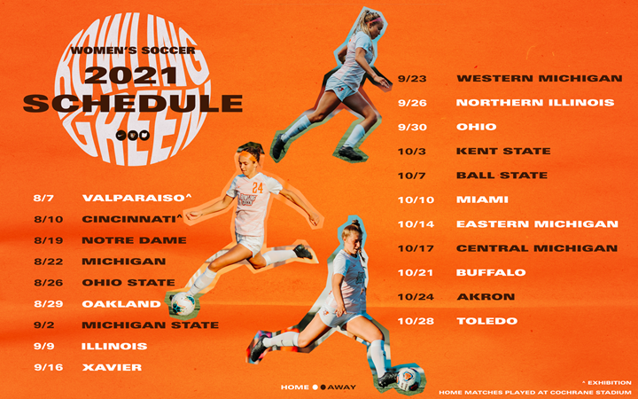 Defending MAC Champions Unveil 2021 Schedule - Bowling Green State University Athletics
